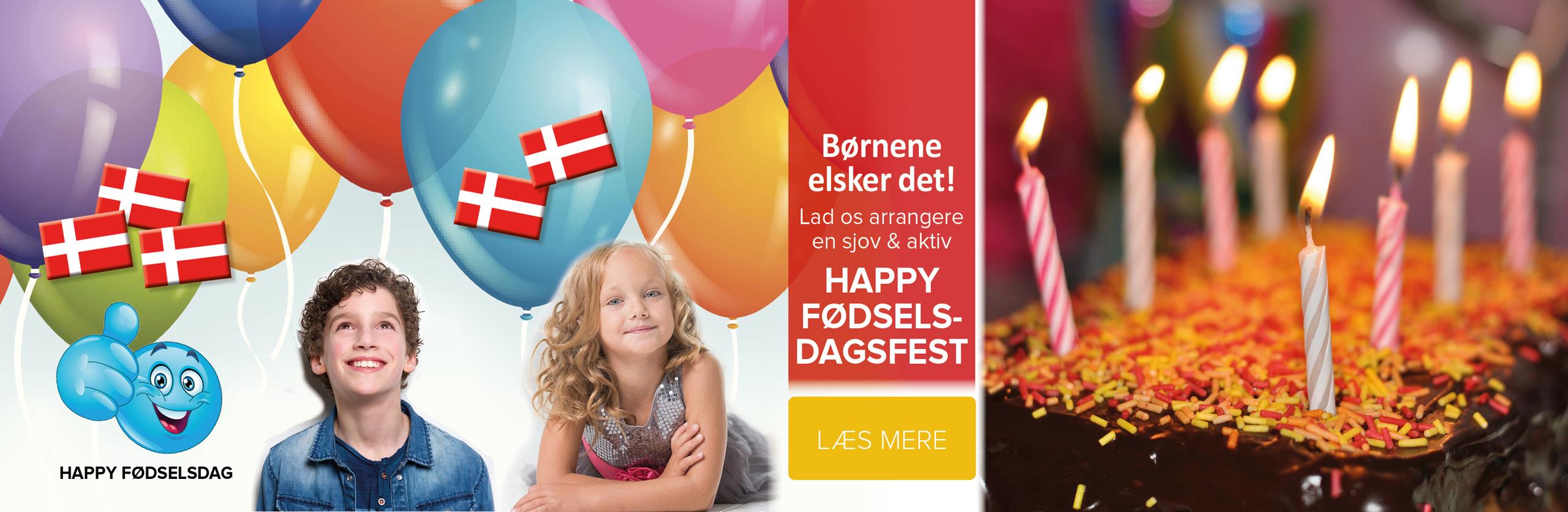 Happy børnefødselsdag i Tarm Idrætscenter