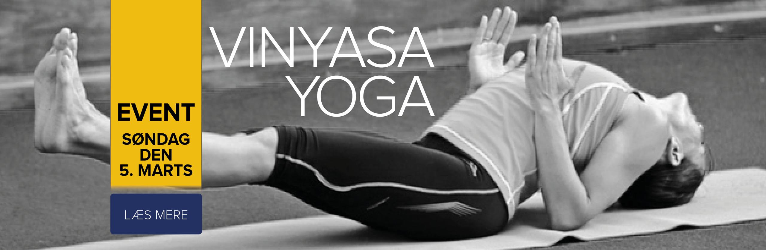 Vinyasa yoga event