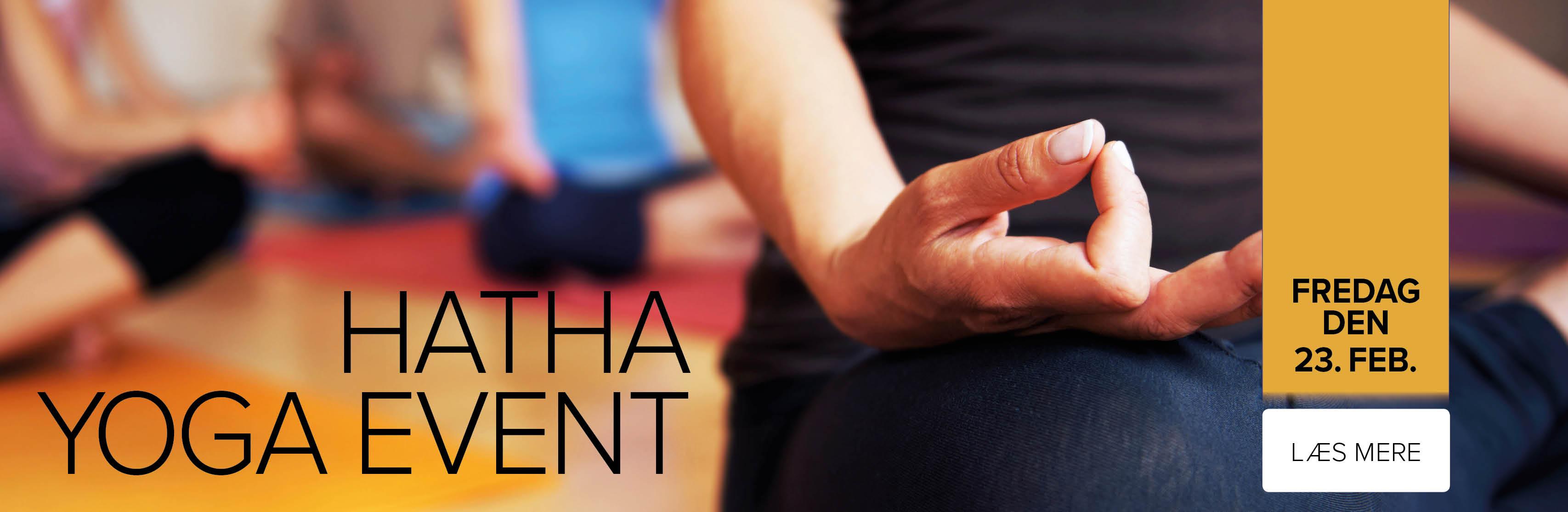 HATHA YOGA EVENT
