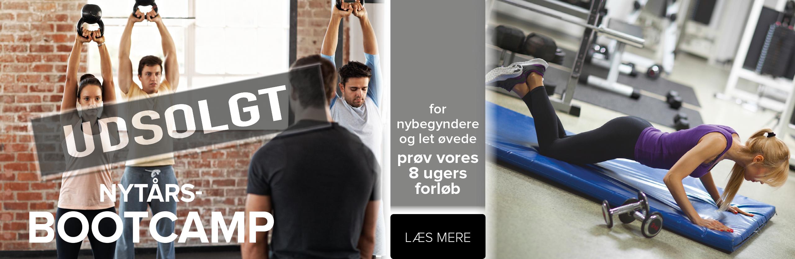 NYTÅRS-BOOTCAMP 2018