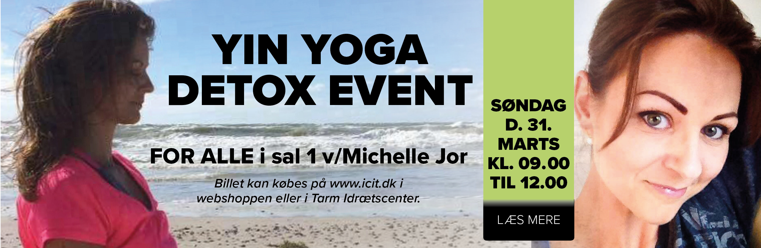 Yin Yoga Detox Event