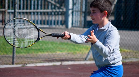 Tennis med instruktør
