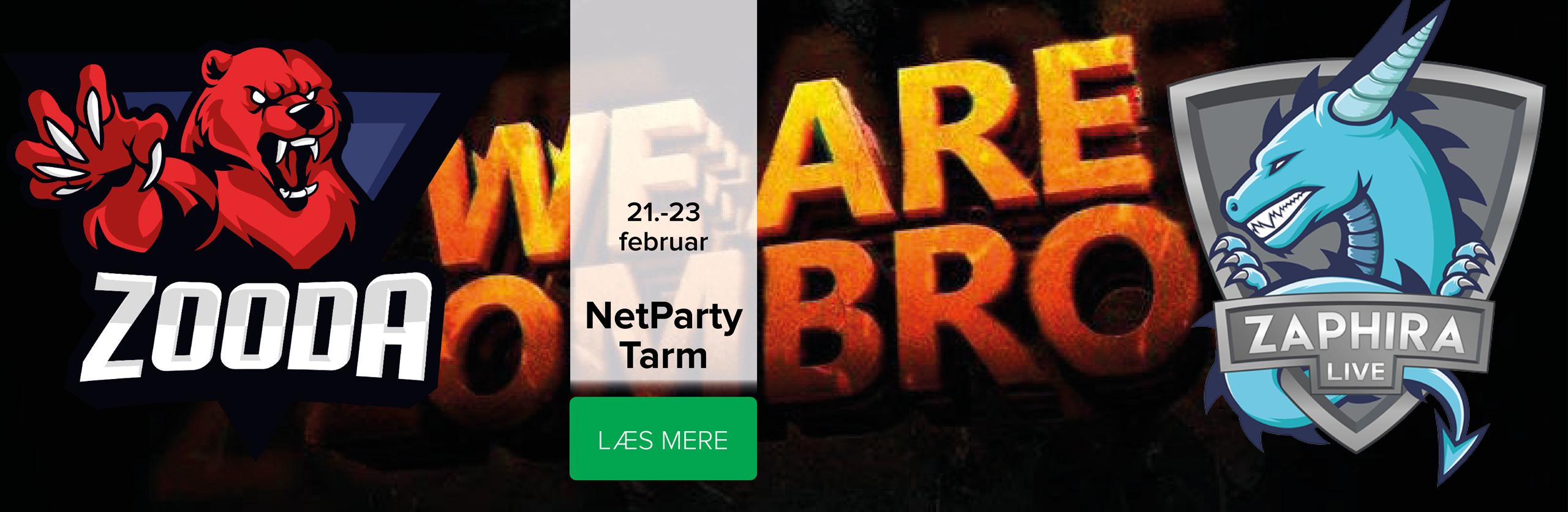 NetParty Tarm