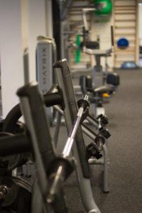 Faciliteter - frie vægte, ribber og bolde
