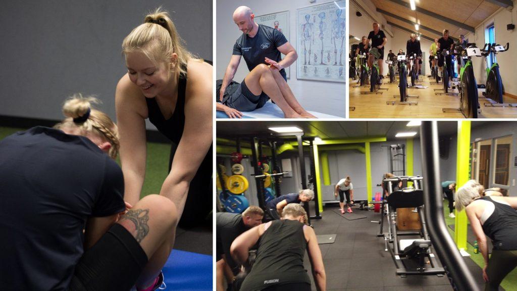 Fitness, sundhed og træning