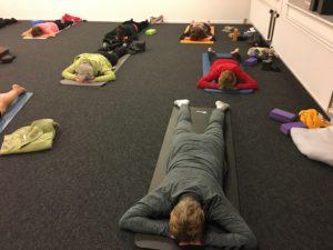 Holdtræning - Yin Yoga