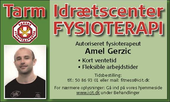 Fysioterapeut - Amel